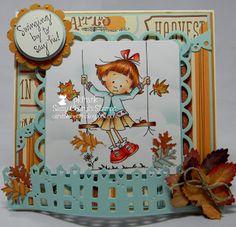 Cards 2 Cherish--Sweet Fall Sassy Sally