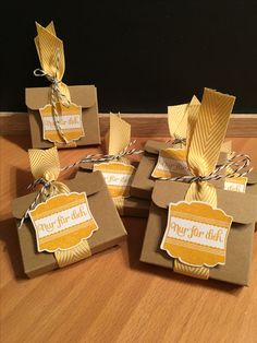 Stampin Up, Place Cards, Place Card Holders, Gifts, Food, Do Your Thing, Ideas, Presents, Essen