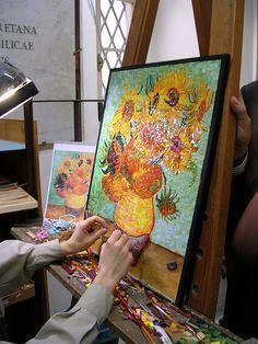 Van Gogh mosaic process