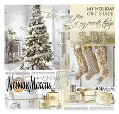 """The Holiday Wish List With Neiman Marcus: Contest Entry"" by betiboop8 ❤ liked on Polyvore featuring Neiman Marcus, Kim Seybert, Norell, Daum, Mimi So, Estée Lauder, House of Sillage, Penny Preville and NMgifts"