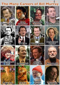 Truly the hottest mess of them all ... Bill Murray