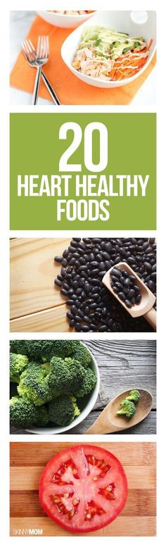 20 healthy foods good for your heart!