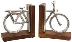 Pair Of Aluminium and Polished Wood Bicycle Bookends mary... https://www.amazon.co.uk/dp/B00GXDLTR6/ref=cm_sw_r_pi_dp_x_CzupybKNN73GZ