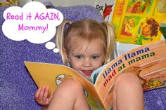 Read it AGAIN, Mommy! -- a new blog featuring a picture or chapter book and link-up for activities weekly by the creator of In Lieu of Preschool