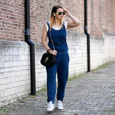 Iris . - Chloé Bag, Adidas Stan Smith Sneakers, 40weft Jumpsuit - JUMPSUIT