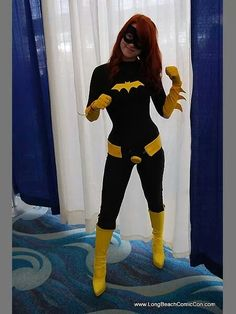Cute batgirl cosplay