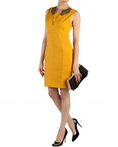 Embellished collar dress - EDELLA - Ted Baker