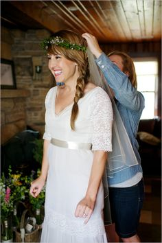 I love the dress and the flower headpiece.  I already have a dress and it looks nothing like this.  I didn't look hard enough.  Happy with mine, but this hippie style is so beautiful.