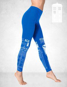 100 Whovian Tardis Blueprints Leggings american apparel by GeekyU1, $59.99