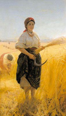 Artist: Mykola Pymonenko  Completion Date: 1889