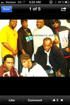 Hip-Hop pioneers. My big Bro: Mr. Biggs with Afrika Bambaataa and the rest of the Soul Sonic Force Crew.  Rock, Rock to the Planet Rock.