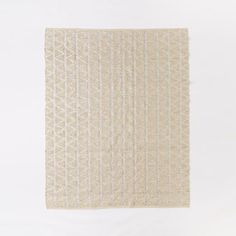 Shimmer Jute Rug, Ivory/Silver, 9X12 for Kate's or 5X8 for Guest Bedroom