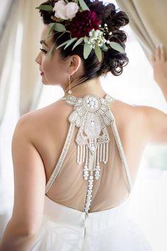 Veil of Grace | Bride's Braided Mohawk