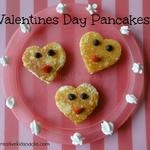 Valentines Day Pancakes