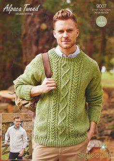 Sweaters in Stylecraft Alpaca Tweed DK (9007) | Deramores