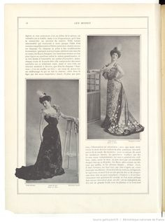 Les Modes : revue mensuelle illustrée des Arts décoratifs appliqués à la femme | 1901-02 | Gallica