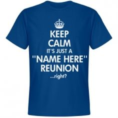 Custom Family Reunion T-Shirts & Hoodies