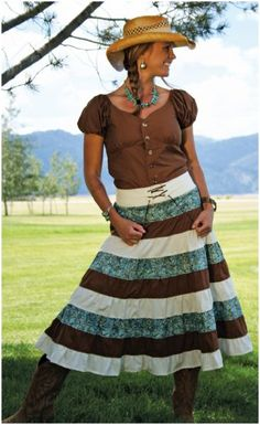 Country Girl Skirt - LOVE this