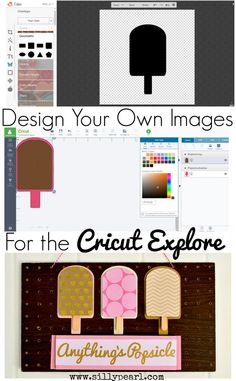 How to Design Your Own Images to Cut in the Cricut Explore - The Silly Pearl