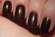 OPI: Espresso Your Style great toe color for fall!
