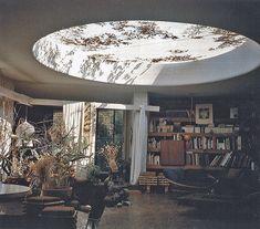 Jean-François Zevaco - Architect's own house and studio, Casablanca 1979. Via.