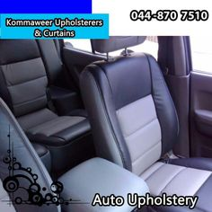 At affordable prices we can re-upholster your damaged car interior and make it look as good as new! #autoupholstery #lifestyle #comfort