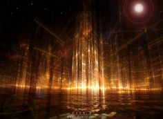 17 Illuminating Digital Art by Kouji Oshiro   Digital Art