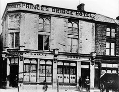 1860's Earlier Young & Jacksons Hotel