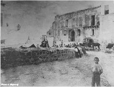 Piazza San Francesco dopo il terremoto del 1905
