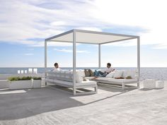Pergola sofa is a outdoor space to enjoy your outdoor furniture with your friends and visits.