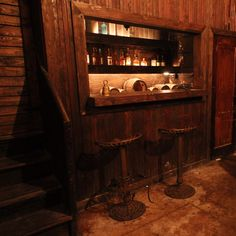 Every single room in Bourbon & Branch (even the secret basement one!)