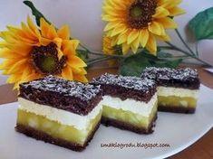 Ciasto kilimandżaro Cheesecake, Tasty, Food, Cakes, Recipes, Pastries, Cream, Cake Makers, Cheesecakes