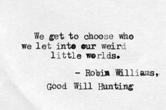 Good Will Hunting ❤️                                                                                                                                                                                 More