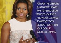 Michelle Obama is a wonderful woman. She is such a incredible person.