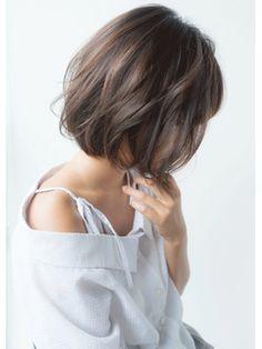 【2018年春夏】ナチュラルショートボブ/hair make Soel 【ヘアメイクソエル】のヘアスタイル|BIGLOBEヘアスタイル