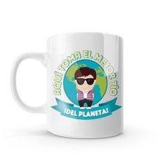 Mug - Aquí toma el mejor tío del planeta, encuentra este producto en nuestra tienda online y personalízalo con un nombre o mensaje Mugs, Tableware, Best Aunt, Store, Get Well Soon, Messages, Creativity, Dinnerware, Tumblers