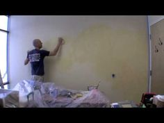 Faux painting Masters ,Applying color wash | http://pintubest.com