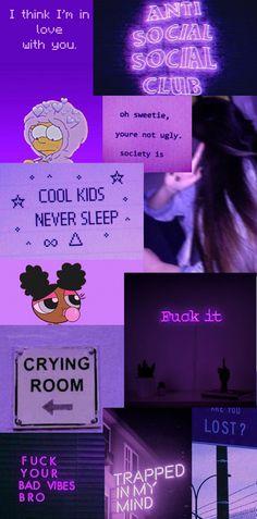 phone wallpaper, purple aesthetic
