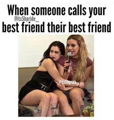 Fifth Harmony funny quote LOL! Besties Quotes, Best Friend Quotes, Best Friend Goals, My Best Friend, Bffs, Bestfriends, Funny Bestfriend Quotes, Funny Best Friend Memes, Funny Relatable Memes
