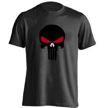 THE PUNISHER Skull Mens Personalized T Shirt Baseball White Tee //Price: $US $14.90 & FREE Shipping //    #ironman #spiderman #homemaranha