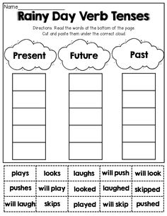 31 Best First Grade Verb Tenses images in 2019 | Verb tenses ...