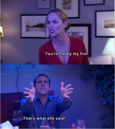 When Jan and Michael had their big fight.