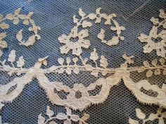 antique french lace design