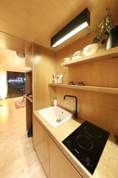 Image 8 of 24 from gallery of Slow Town Tiny House / The Plus Partners + DNC Architects. Photograph by Moobum Jang