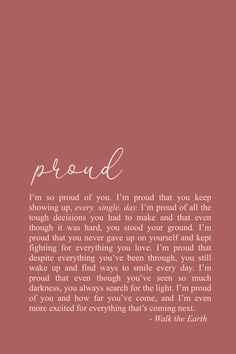 Self Love Quotes. Self Care Poetry. Inspiring words for the heart & soul. - Note to self poem. Self Healing Quotes, Self Love Quotes, Words Quotes, Wise Words, Me Quotes, Motivational Quotes, Inspirational Quotes, So Proud Of You Quotes, People Quotes