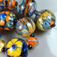 TRIZAS-ORIGINAL  Handmade lampwork bead  TOS0510 SRA #TRIZASOriginal #Lampwork