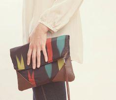 {Kimono Clutch} fab oversized clutch!