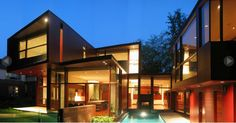 Project: Forest Hill Home Location: Toronto, ON Product: Parklex ARchitect: Teeple Architects #brilliantbuildings