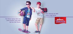 Get your son look trendy and dapper with our latest kids wear collection! #New #Kids #Wear #Collection