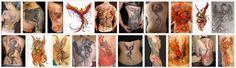 Magnifique Exemple De Tatouage De Phoenix Dos Bras Homme Et Femme TattooMoi.com ToT6e6277